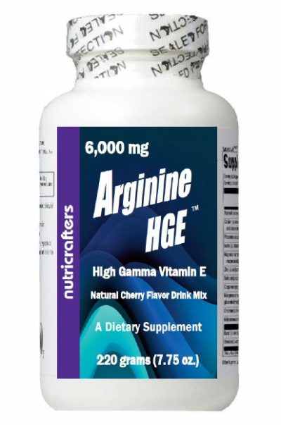 Arginine HGE Bottle