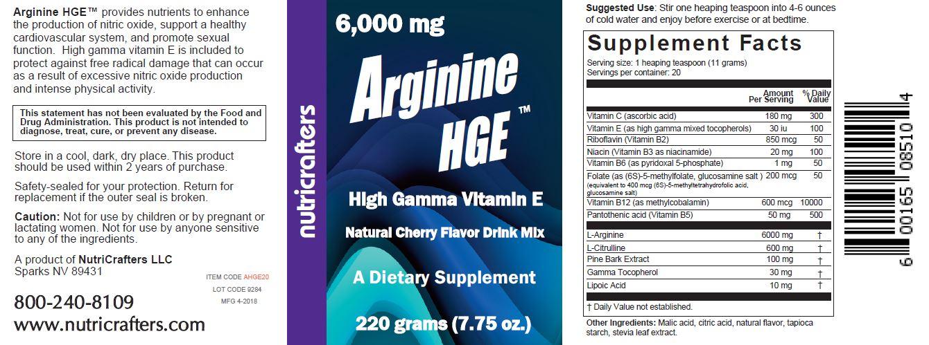 Arginine HGE