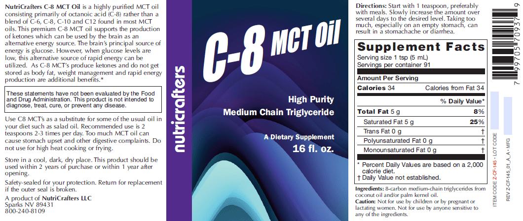 C-8 MCT Oil