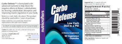 Carbo Defense Label