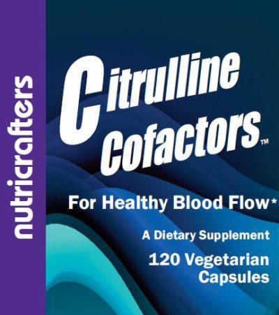 Citrulline Cofactors Front Label Panel