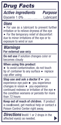 NAC Eye Drops Drug Facts