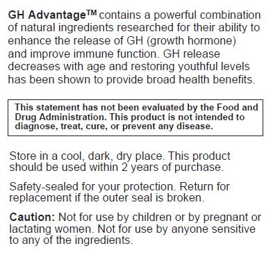 GH Avantage Information