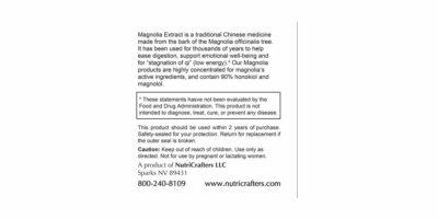 Magnolia Max Information