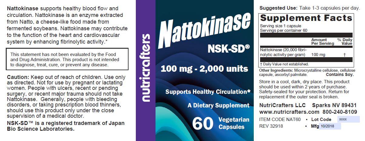 Nattokinase NSK-SD