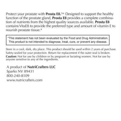 ProstaE8 Label Panel