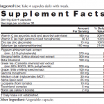 Prosta E8 Supplement Facts