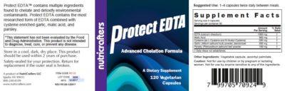 Protect EDTA Label