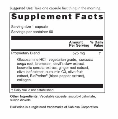Protect Flex Supplement Facts