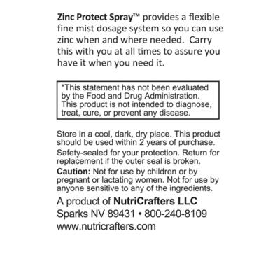 Zinc Protect Spray